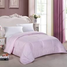 逸轩家纺 尊贵型羊毛被 粉色 150*200cm 4.4斤