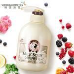 【韩国进口】所望牛奶沐浴乳露正品750ml保湿滋润留香