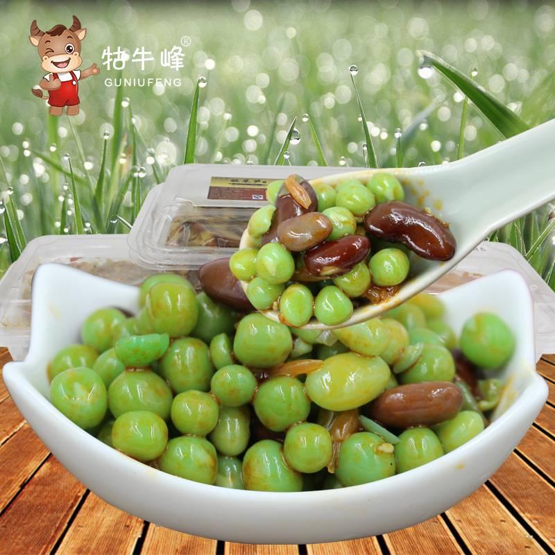 欢乐豆 酱豌豆 酱菜 特产下饭菜 大红豆 250G