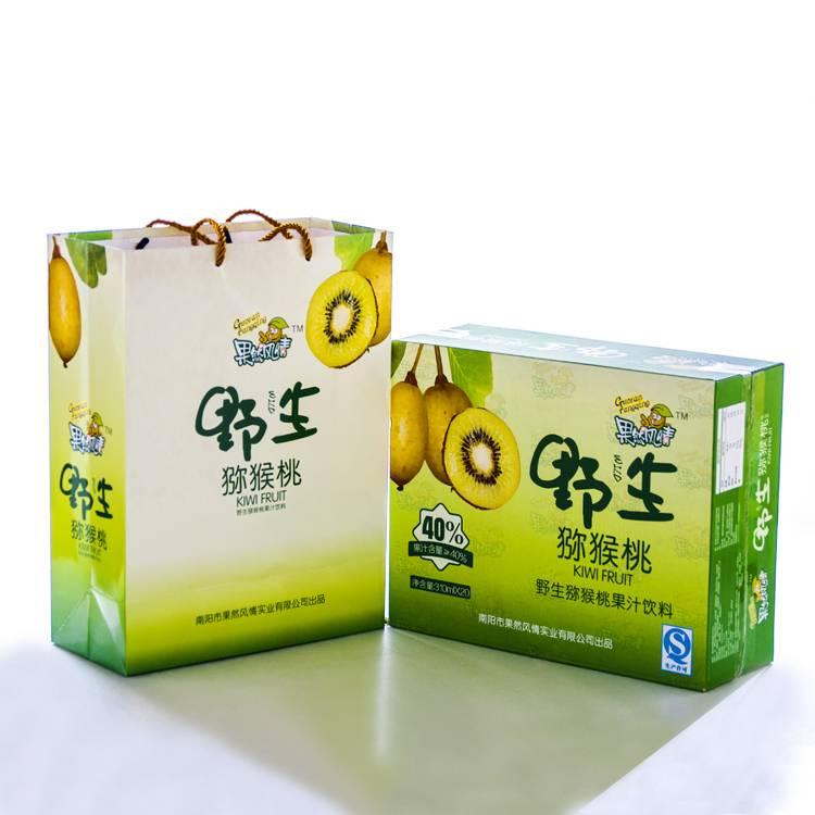 果然风情野生猕猴桃果饮 高含量猕猴桃果汁310ml  整箱20听包邮