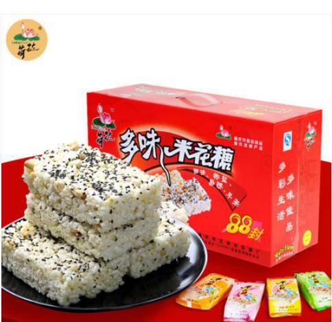 【江津富硒馆】荷花多味米花糖88封礼盒