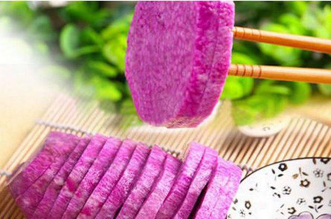 【预售】【上垟乡】紫莳药(紫山药)现挖现发新鲜4斤装