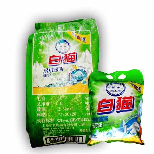白猫2.5公斤冷水速洁洗衣粉