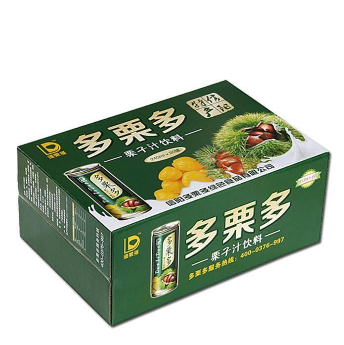 【信阳特产】多栗多 板栗汁 240ml*20罐 养生板栗饮料